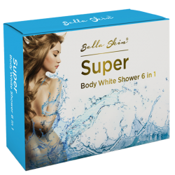Kem tắm trắng Bella Skin Super Body Shower 6 in 1