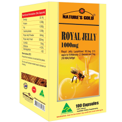 Sữa ong chúa Nature's Gold Royal Jelly 1000mg