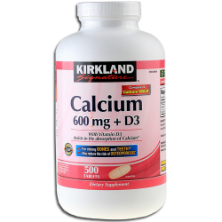 Kirkland Calcium 600 mg + vitamin D3